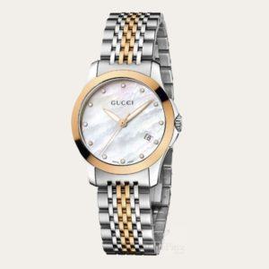 GUCCI G-Timeless Diamond Ladies Watch YA126514
