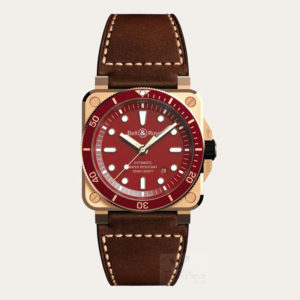 BELL AND ROSS Limited Edition BR 03-92 Diver Red Bronze [BR0392-D-R-BR/SCA]