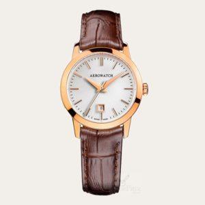 17973RO02 AEROWATCH Les Grandes Classiques Ladies Watch
