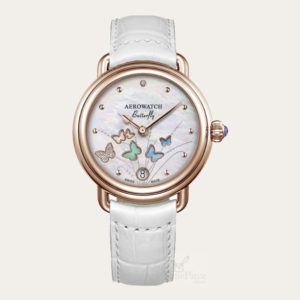 44960RO05 AEROWATCH Limited Edition Ladies Watch